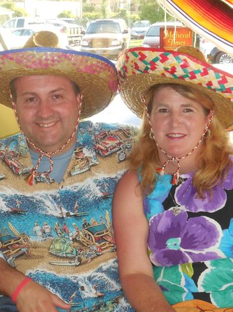Margarita's Mexican Restaurant: My Wife and I.