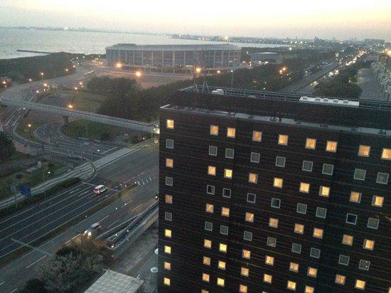 APA Hotel & Resort Tokyo Bay Makuhari: view from the room