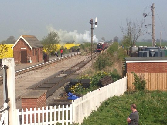 Lincolnshire Wolds Railway: 2014 Easter gala