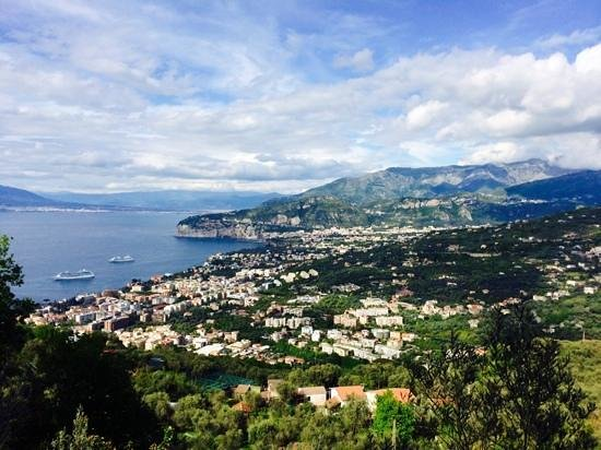 Hotel Villa Fiorita: Sorrento city view