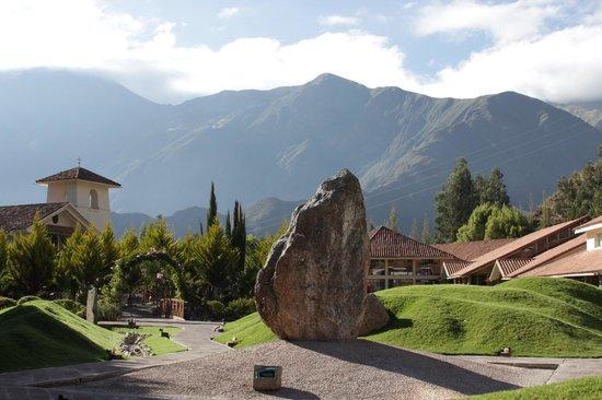 Aranwa Sacred Valley Hotel & Wellness: Jardins do Hotel