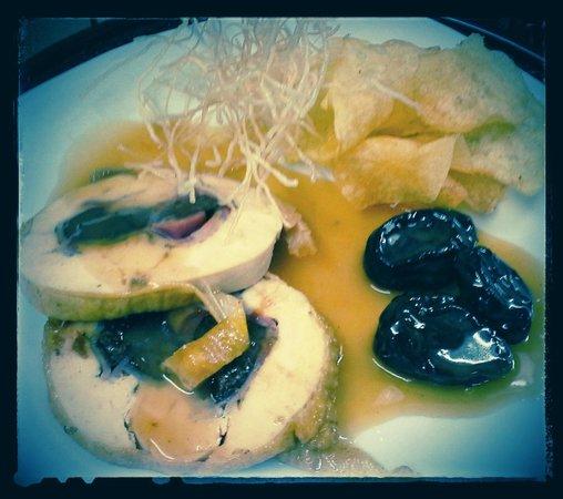 La Cuina de la Loli : Pollo relleno con salsa de naranja.