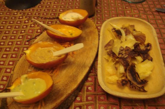 Hotel Patio Andaluz: Complimentary appetizer