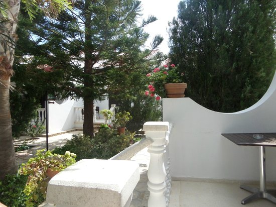 Almond Holiday Village : the terrace of our garden villa