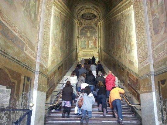 Scala Santa and Chapel of San Lorenzo: Scala Santa