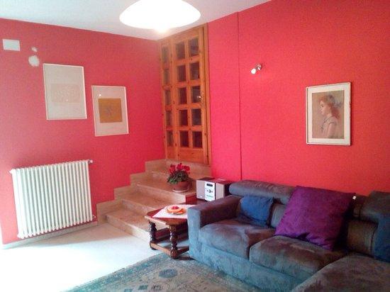 B&B Luce Viola : Salone -living room