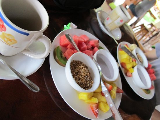Arenal Backpackers Resort: Breakfast at Arenal Backpackers