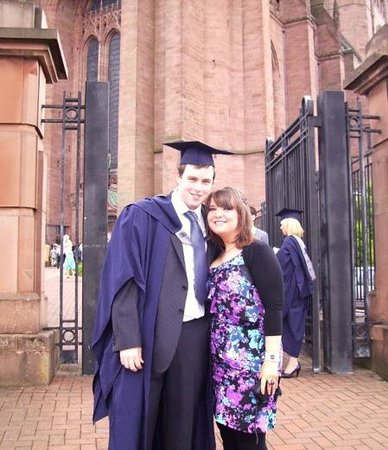Liverpool Cathedral: graduation at anglican