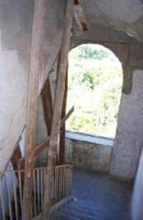 Villa D'Agostino: scala palazzo