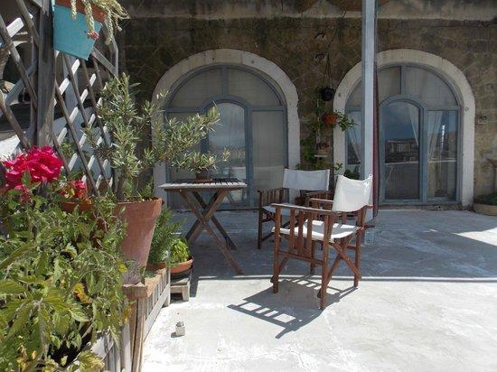 Villa D'Agostino: terrazzo