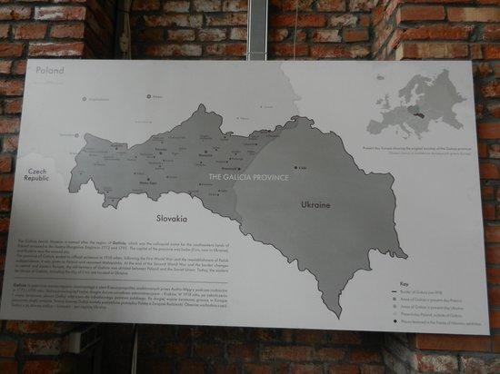Galicia Jewish Museum : One of many displays