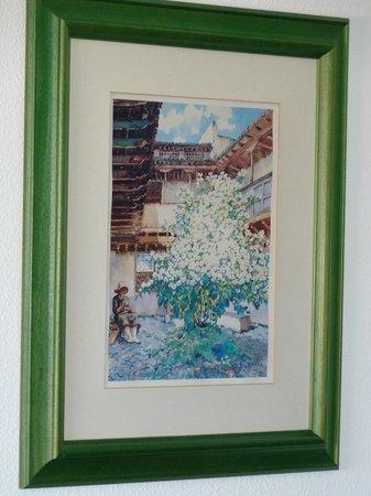 Hotel Puerto de la Cruz: Attractive picture on bedroom wall