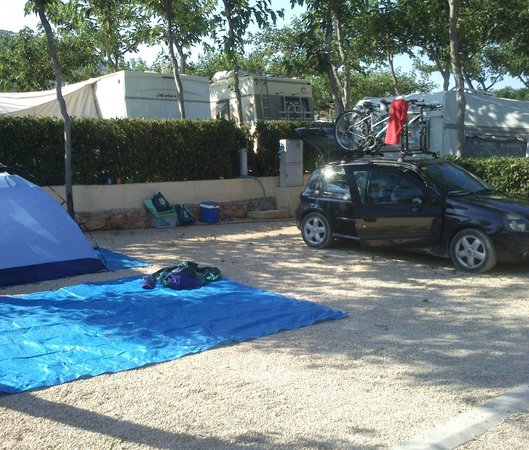 Ribamar Camping y Bungalows : Parcela
