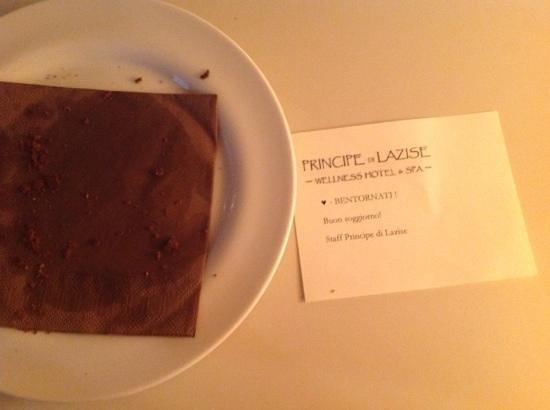 Principe Di Lazise: biscottini..... finiti