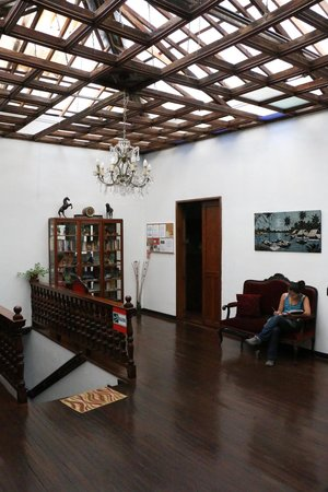 Mirador Andino Hostel: reception