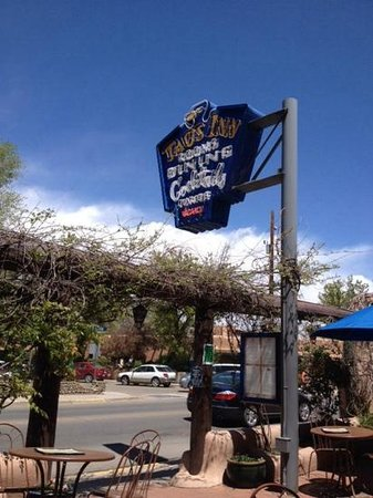 Doc Martin's Restaurant : Part of my lunchtime view at the Taos Inn.