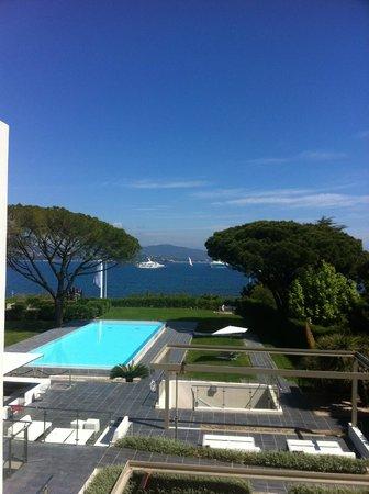 Kube Hotel-St Tropez : vue très agréable