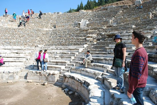 No Frills Ephesus Tours: The amphitheatre at Ephesus