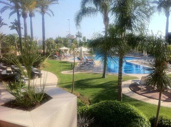 Occidental Estepona Thalasso Spa: View from Room 16 balcony