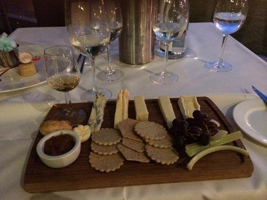 The Midland : Cheese board
