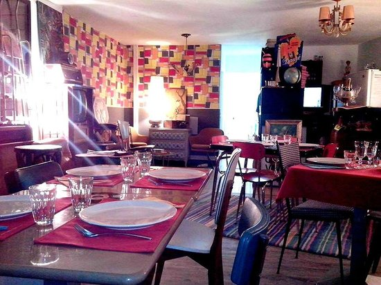 à La Table Vintage, ambiance du soir.