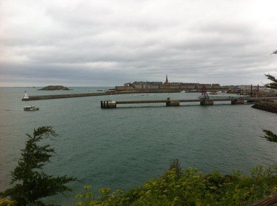 Saint-Malo, Frankrike: vue sur st malo