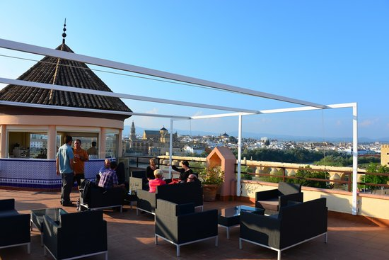 NH Cordoba: Rooftop Terrace at Hesperia Cordoba