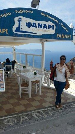 Fanari Restaurant: visual esplêndido
