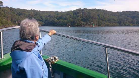 Cronulla & National Park Ferry Cruises: Royal National Park view