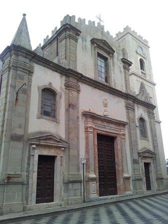 Taxi Taormina Romano Day Tours: Church in Savoca