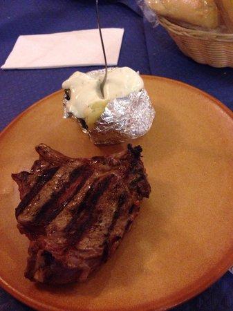 Los Curros : Bisteca de Avila... Muito bom!