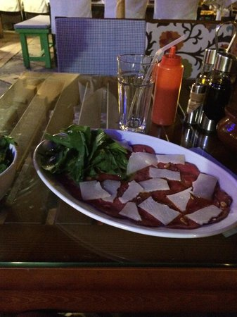 Le Garage - Gourmet Burger: The Carpaccio!!!!