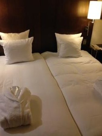 Hilton Brussels City: clean beds great stay