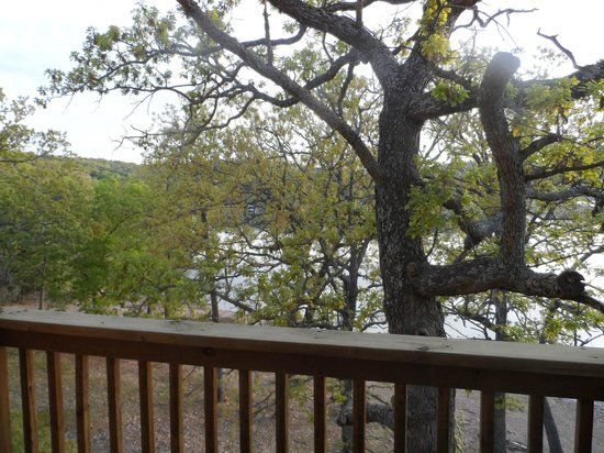 Branson Yacht Club Resort : Morning view from our deck