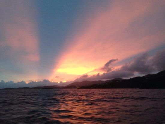 Heavenly Days Catamaran: Sunset