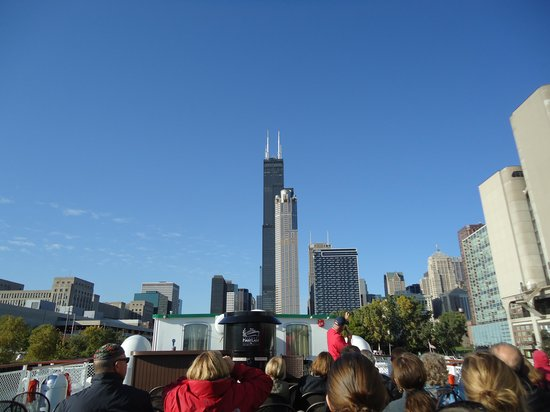 Chicago's First Lady Cruises: Willis Tower
