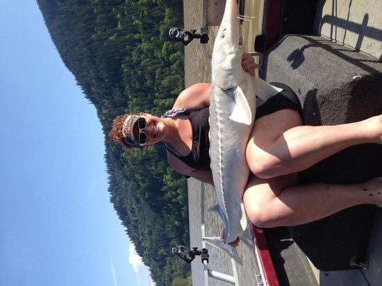 Clear Creek Fishing Adventures: First fraser river sturgeon