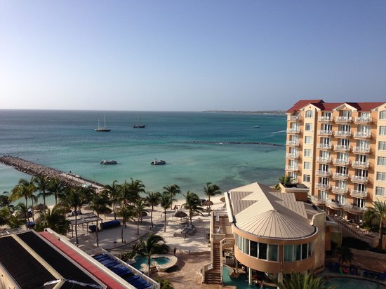 Divi Aruba Phoenix Beach Resort: View from room 801