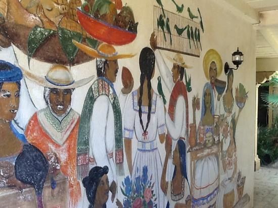 Hacienda Corona de Guevavi: the murals