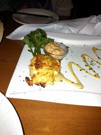 J Mark's Restaurant & Bar: Crab Cake