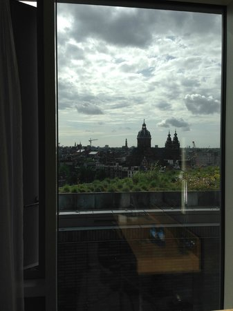 DoubleTree by Hilton Hotel Amsterdam Centraal Station: Panorama dalla camera