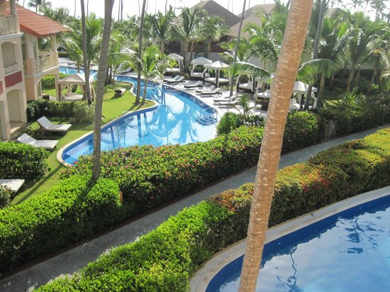Majestic Elegance Punta Cana : View from our balcony