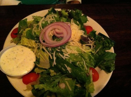 Front Street Brewery : Side Salad