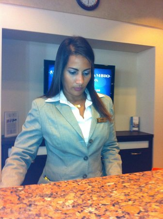 Embassy Suites by Hilton San Juan Hotel & Casino : Aisha what a great resource and he really tried