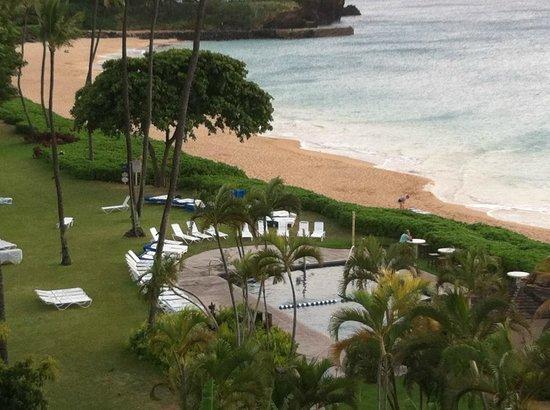 Royal Lahaina Resort : From Balcony - pool #2 and beach