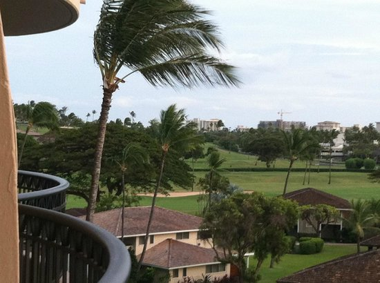 Royal Lahaina Resort: Balcony 1