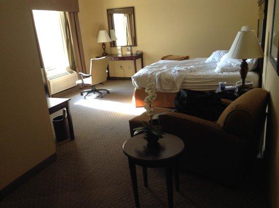 Holiday Inn Express Texarkana: The room was big