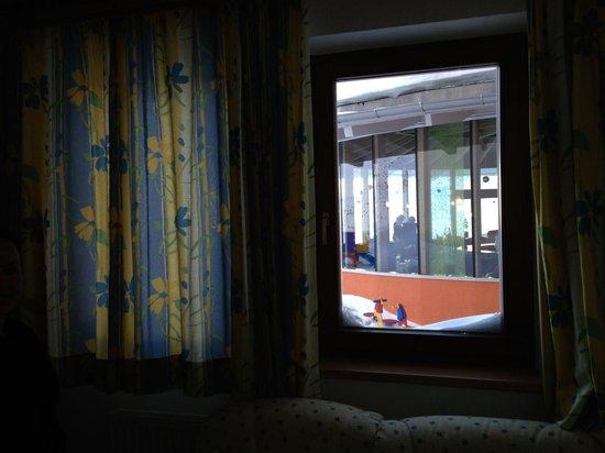Hotel Riml: Ausblick !!! schlechter geht nicht