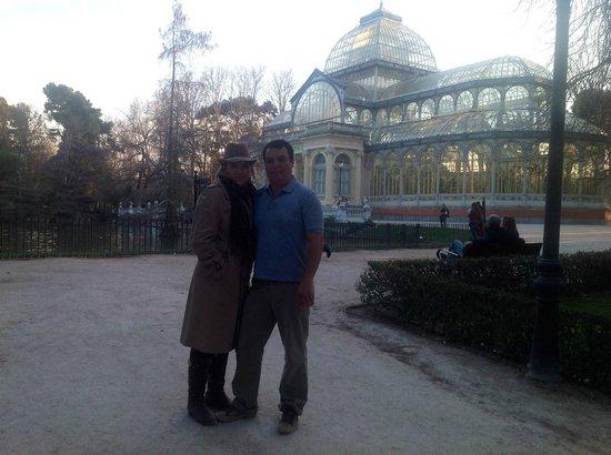 Palacio De Cristal: eu e ROSELI
