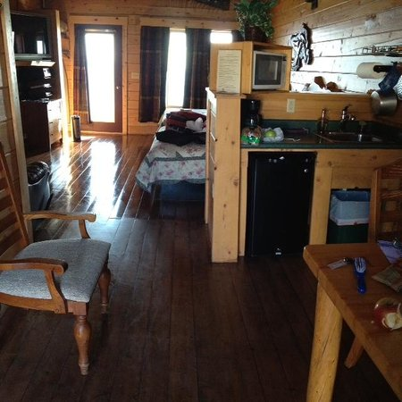 Alaskan Suites: inside